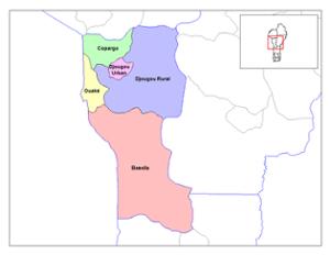 Le département de la Donga